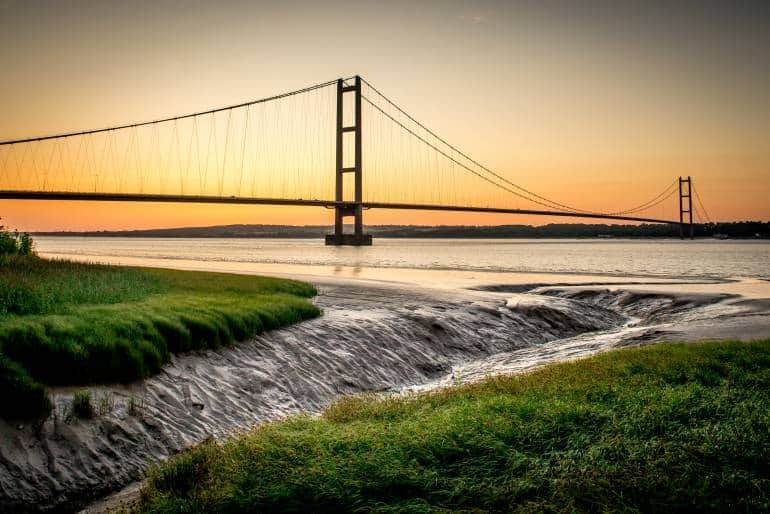 Humber Bridge UK Cities