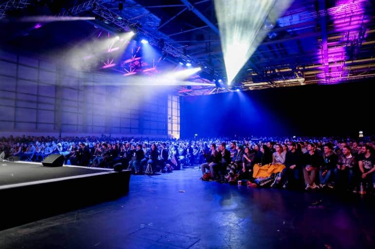 MCM Comic Con stage