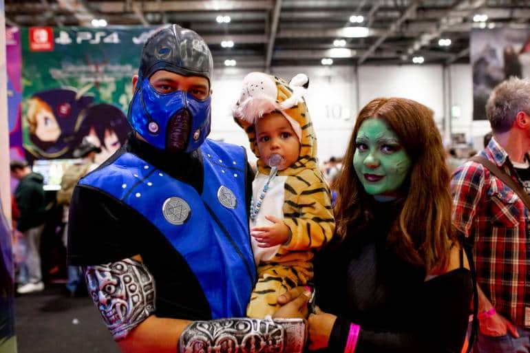Kids at MCM Comic Con
