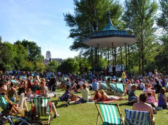 outdoor concert at Regent's Park