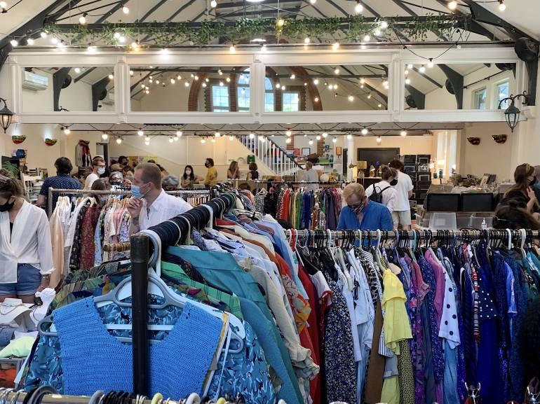 Hackney Flea Market in Abney Hall