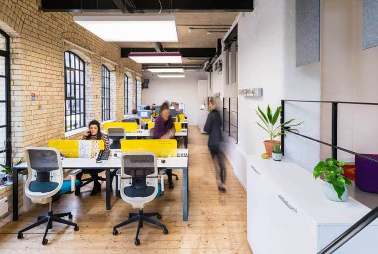 London co-working spaces - Purple Patch in Farringdon