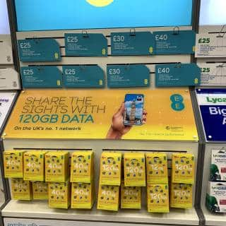 Where to Buy a SIM Card in London