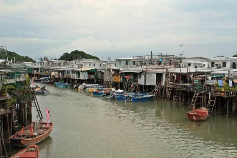 Tai O Fishing Village stilt houses, Lantau Island, Hong Kong