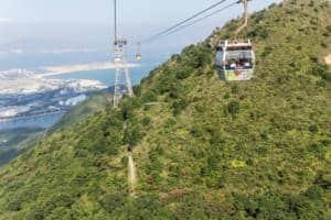 Ngong Ping 360 cable car Hong Kong