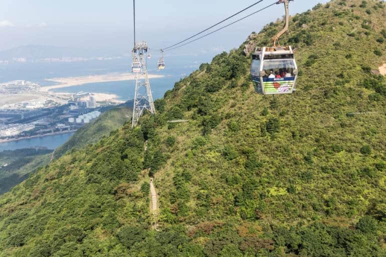 Ngong Ping 360 cable car, Hong Kong