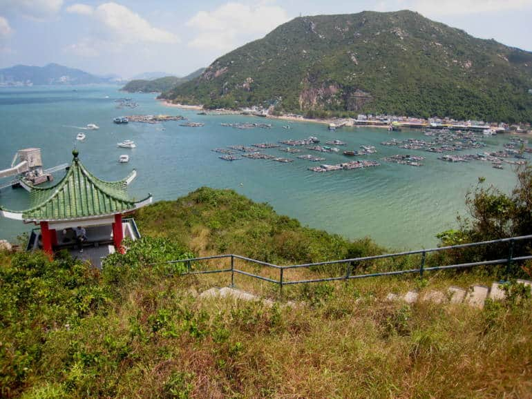 View of Sok Kwu Wan 48 hours in hong kong