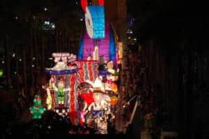 spring lantern festival Tsim Sha Tsui, Hong Kong