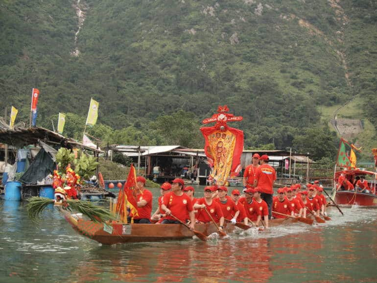 dragon boat Tai O Hong Kong