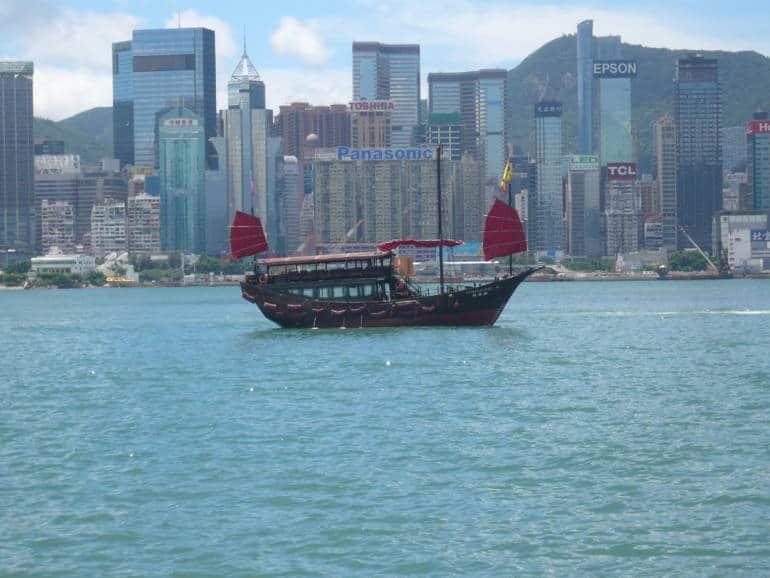 Aqua Luna Hong Kong Victoria Harbor