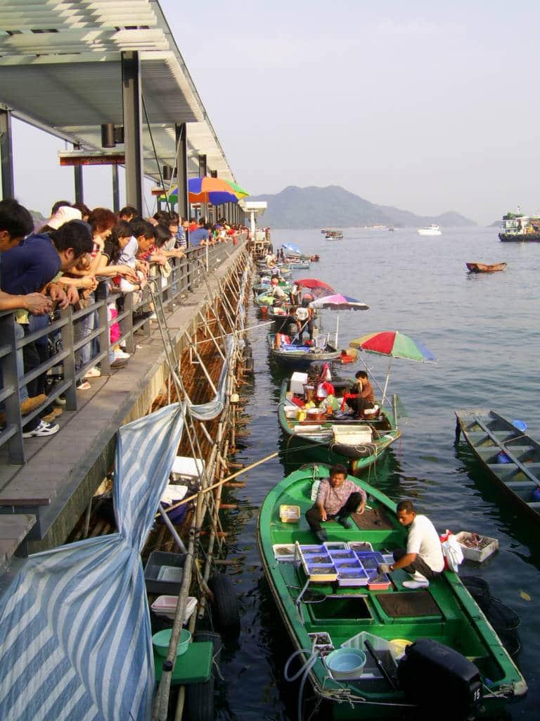 Sai Kung fishmongers