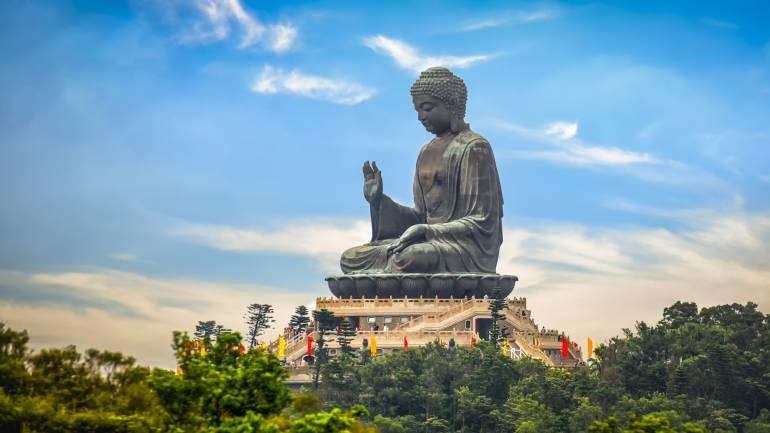 The Tian Tan Buddha in Hong Kong