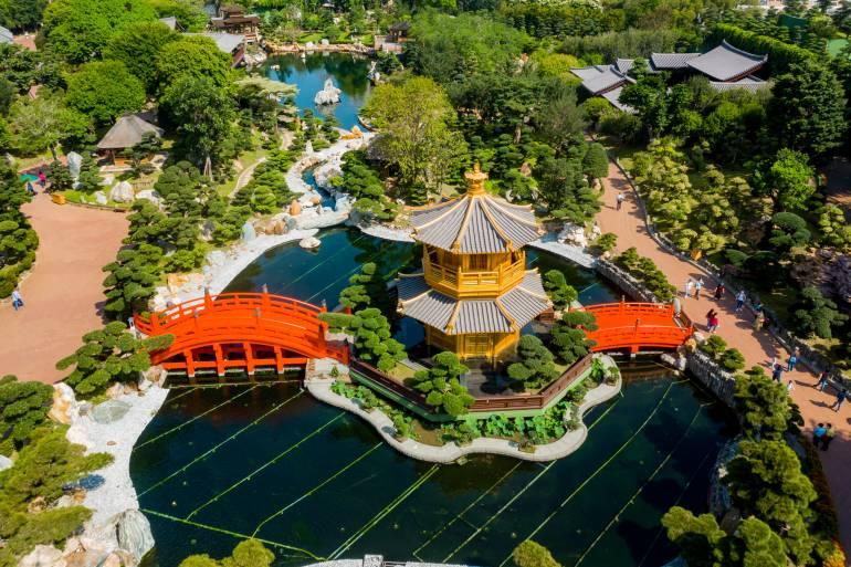 Nan Lian Garden, Chi Lin Nunnery, Diamond Hills, Hong Kong