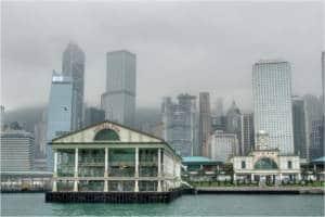 star ferry pier hong kong