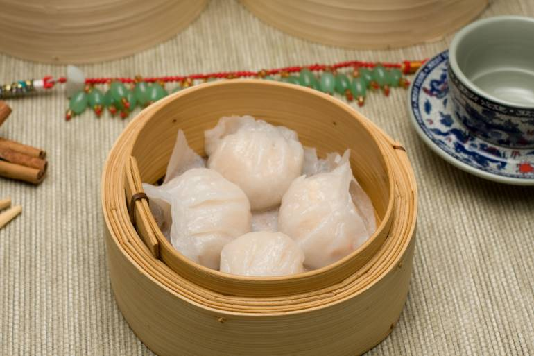Har Gao steamed shrimp dumpling