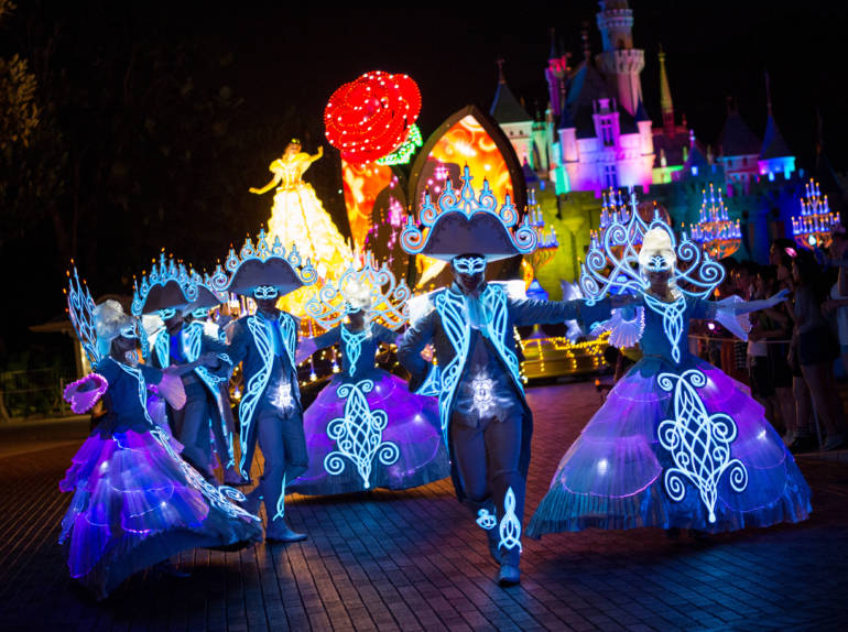 Disney Night Parade