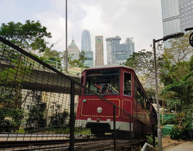 Hong Kong with kids, Peak Tram