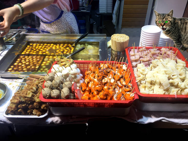 Hong Kong Street Food Stall