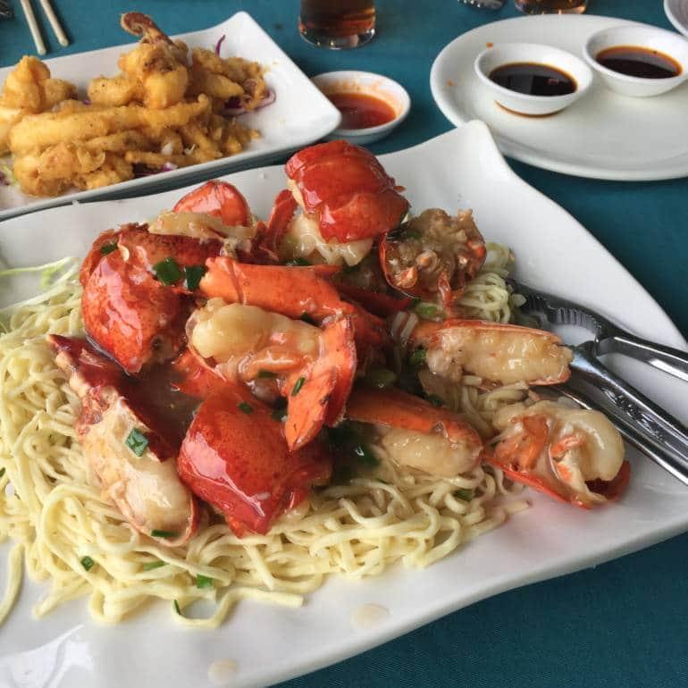 Lobster Efu Noodles