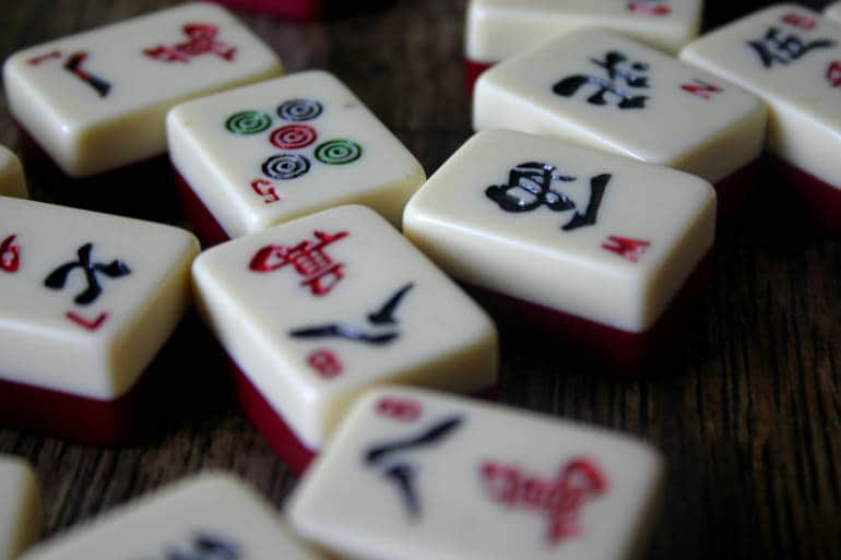 mahjong tiles unique hong kong souvenirs