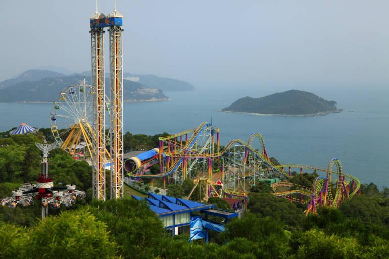 Ocean park amusement park