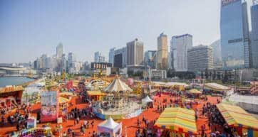 AIA Great European Carnival Hong Kong 2019