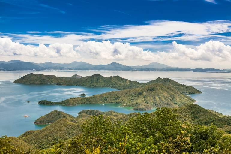 Yan Chau Tong Marine Park, Hong Kong UNESCO Global Geopark
