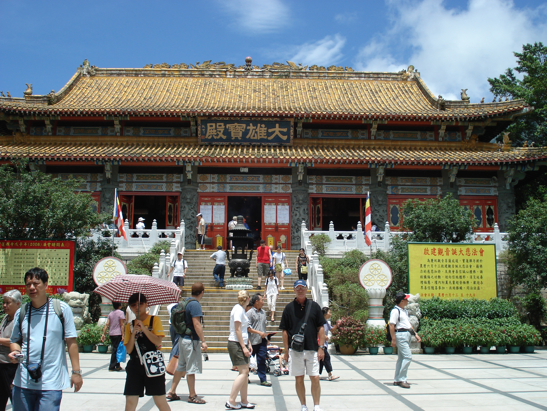Po Lin Monastery vegetarian food hong kong