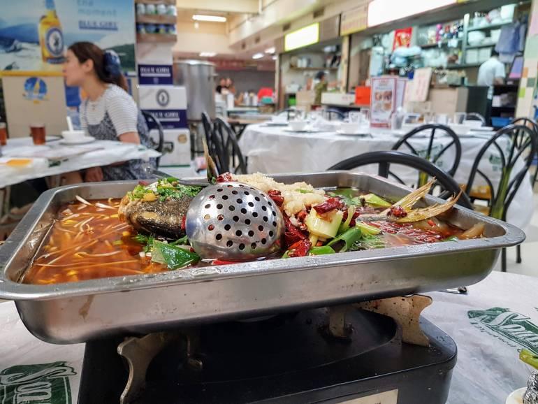 Szechuan food