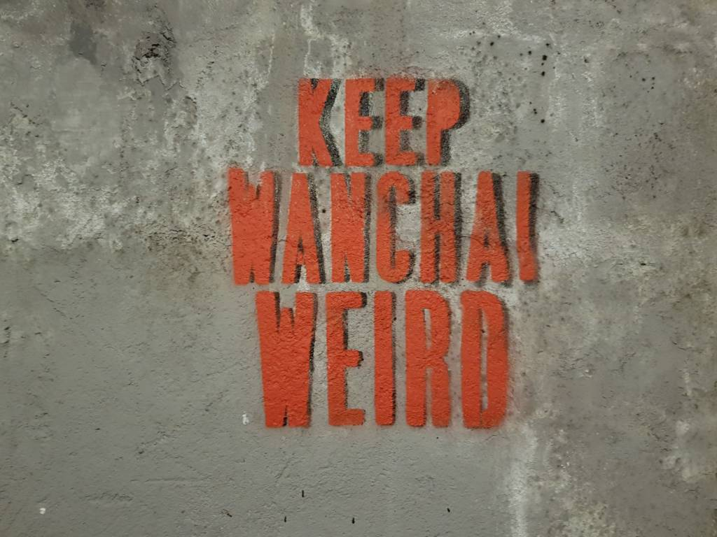Keep Wanchai Weird