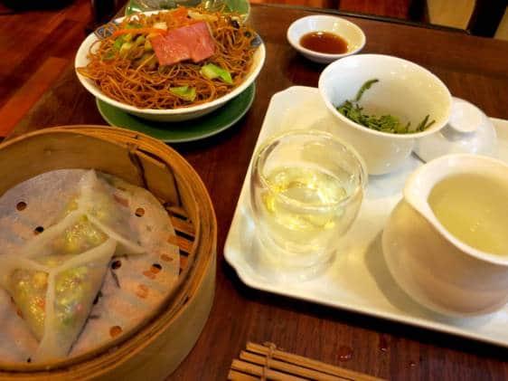 lockcha teahouse hong kong vegetarian restaurant