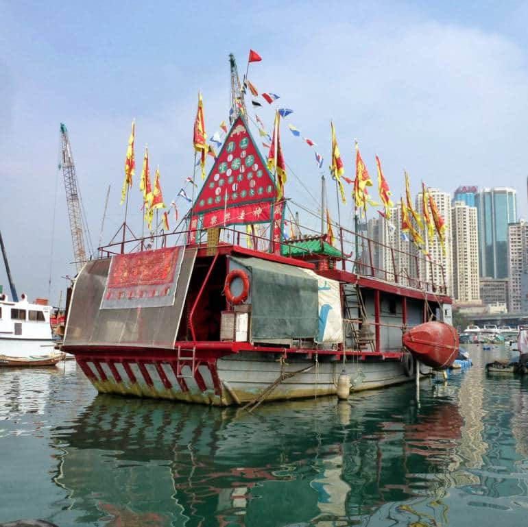 Tin Hau floating temple causeway bay