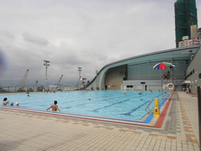hong kong public pools
