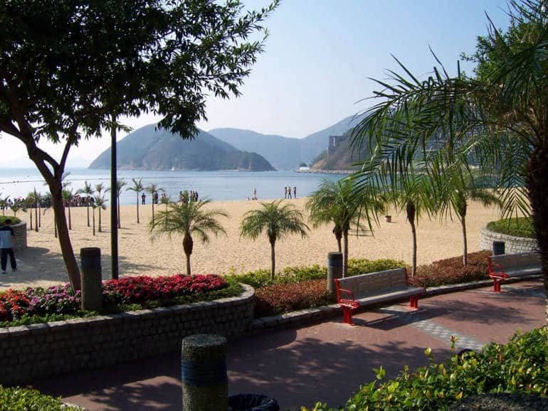 hong kong beaches