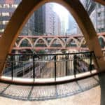 Causeway Bay's Yee Wo Street Circular Bridge