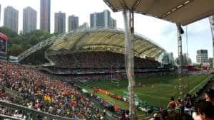 Hong Kong Rugby Sevens at Hong Kong Stadium