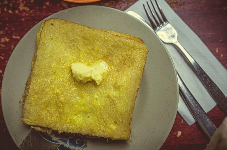 French toast (sai do si)