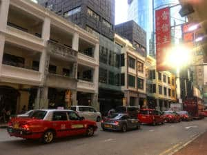 Mong Kok Shanghai street old buildings