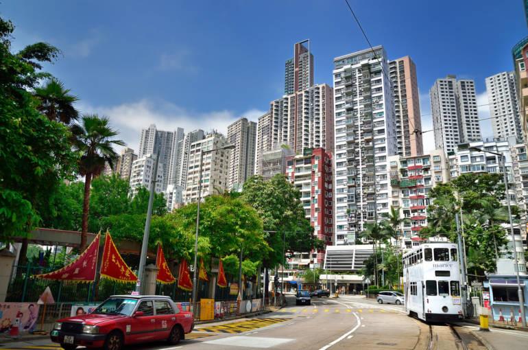 hong kong happy valley racecourse surrounds