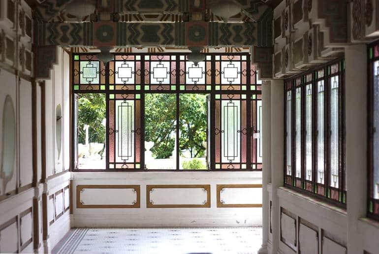 King Yin Lei's garden house