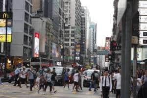 Mong Kok Nathan road