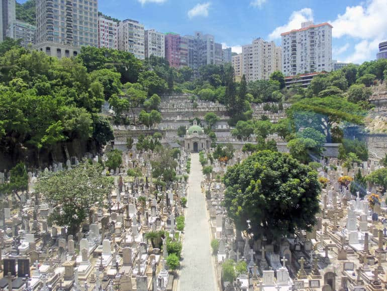 happy valley cemetery hong kong