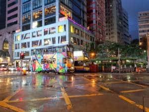 raining hong kong