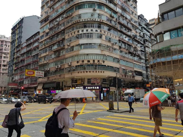 hong kong rainy day