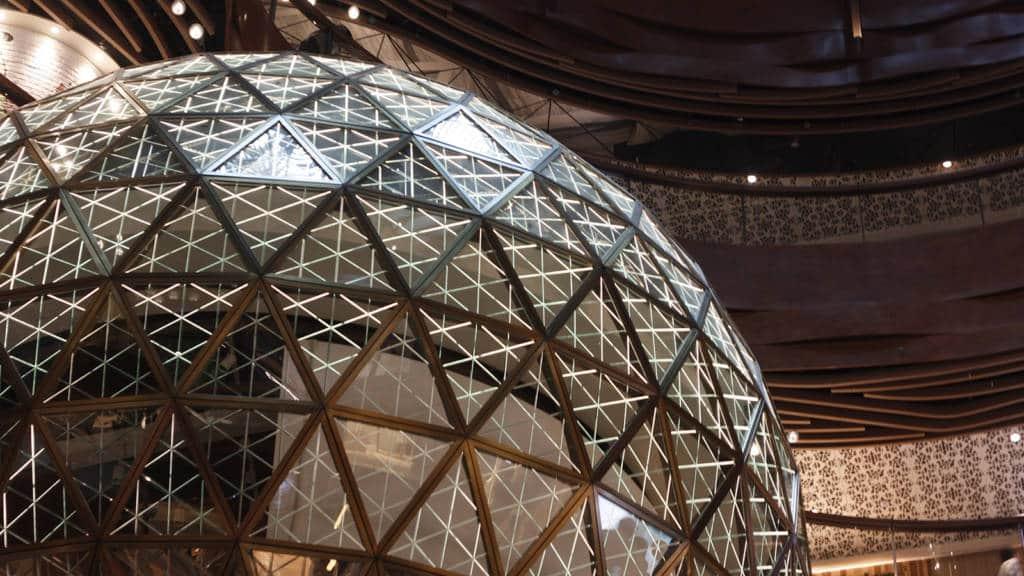 K11 MUSEA gold ball