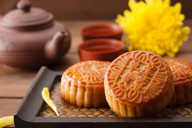 mooncakes mid-autumn festival