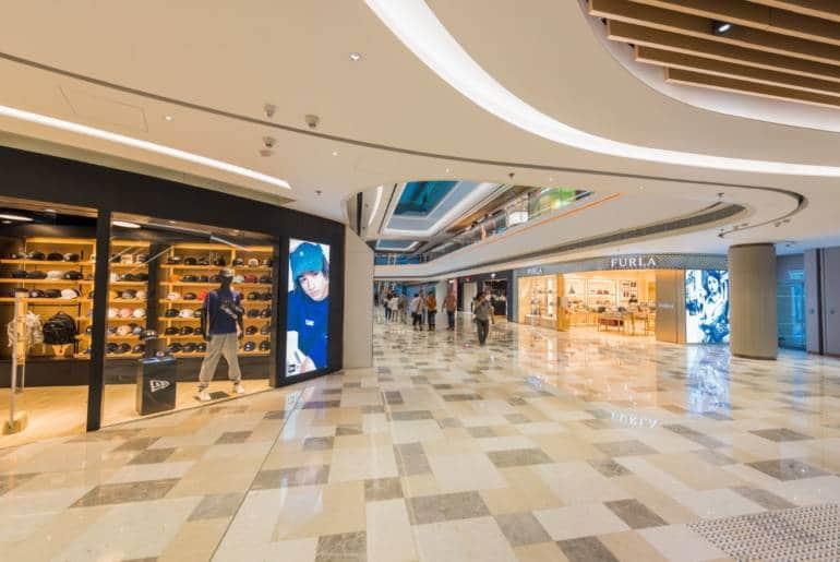 Peak Galleria interior