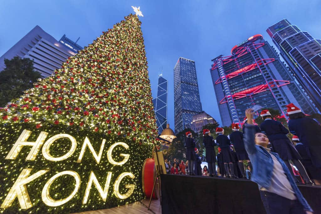 Christmas Tree Hong Kong