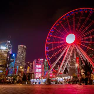 AIA's Centennial 100 Day Giveaway - Get Free Rides on the Hong Kong Observation Wheel