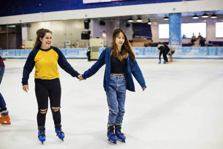 Ice skating hong kong